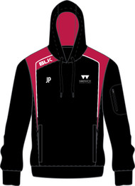 Warwick Uni Tennis Ladies Hoody Black