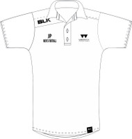 Warwick Uni Mens Football Cotton Polo with initials