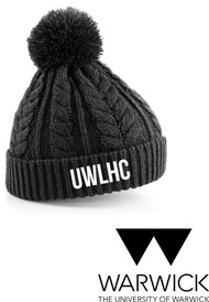 Warwick Uni Ladies Hockey Bobble Beanie