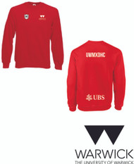 Warwick Uni mixed hockey womens  red sweatshirt