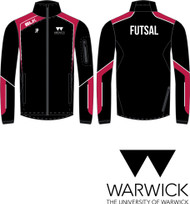 Warwick Uni Futsal Mens Track Jacket with initials