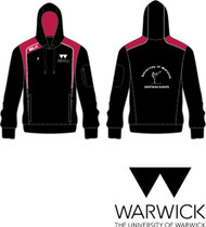 Warwick Uni Shotokan Karate Mens Hoody with initials