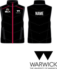Warwick University Basketball Gilet