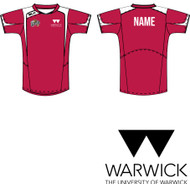 Warwick University Basketball Red T