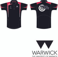 Warwick University Archery black polo