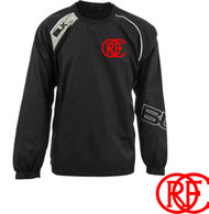 ORFC Club Training Top – TEK Pullover Jacket, black Junior