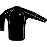 Scunthorpe Rugby – TEK V Wet Top, Black Junior
