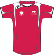 WARWICK UNI TABLE TENNIS LADIES RED TRAINING TEE