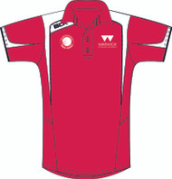 WARWICK UNI TABLE TENNIS LADIES RED POLO