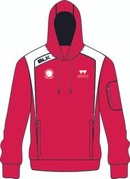 WARWICK UNI TABLE TENNIS LADIES RED HOODY