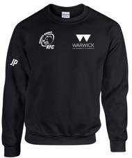 Warwick Uni Womens Rugby Black Sweatshirt