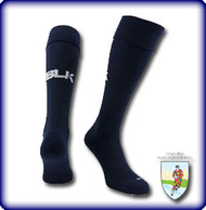 OXFORD HARLE  - BLK TEK SOCKS - NAVY
