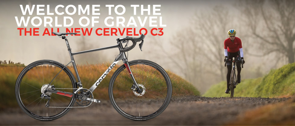 Cervelo C3. Welcome to the World of Gravel