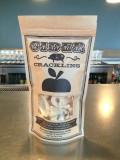 cider cracklins -crispy pork rinds w/ apple cider vinegar powder