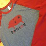 red ball shirt