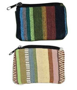 """H9-3  -  Coin Purse Assorted Colors 5"""" x 4"""""""