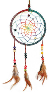 Hemp Dream Catcher 6""