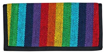 Rainbow Cotton ladies wallet