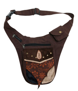 Awesome side pouch for going out - adjustable hip strap 3 pockets