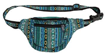 Adjustable 3 Zip Fanny Pack