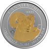 BIGHORN SHEEP - 3/4 oz Pure Silver Coin - gild Canada 2017