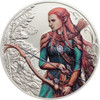 ELVES Fantastic Fantasy 1 oz Silver High Relief Coin 5$ Palau 2017