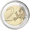 2017 HALLOWEEN Colored Coin 2 EURO