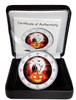 2017 HALLOWEEN Colored Coin 2 EURO with OGP