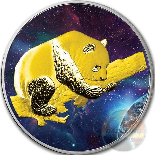 BIG BANG PANDA Silver Coin  10 Y China 2016