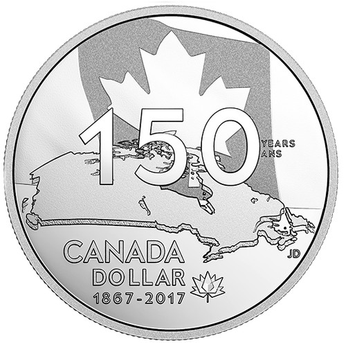 Our Home and Native Land - Special Edition Proof Silver Dollar 2017