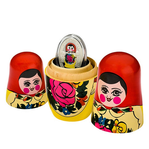 Quot Matryoshka Dolls Quot Solomon Islands 2014 10 1 Oz Fine
