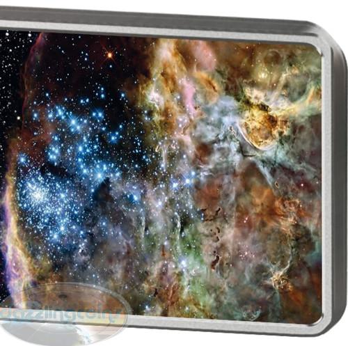 25th Ann. The HUBBLE Space Telescope - 1 oz Pure Silver Coin -2015 Samoa q