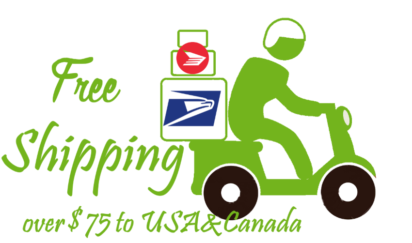 HASSLE FREE SHIPPING for USA & Canada