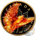 BURNING EAGLE (PHOENIX) 2016 Maple Leaf 1 oz Silver Coin