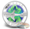 2014 1/2 oz. Fine Silver Coins-O`Canada -The Northern Lights