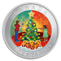 Christmas Tree - Lenticular 50-Cent Holiday Coin Canada 2014