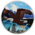 1 OZ Birds of Prey 2014 - Bald Eagle Color II $5 Silver .9999