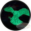 2014 - Peregrine Falcon Glow in the Dark 1 oz Silver .9999