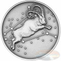 2015 Myth & Legend - Aries 1oz Silver Antique Finish Tokelau Coin