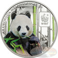 GIANT PANDA WWF Coin 100 Francs Central African Republic 2015