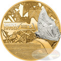 BUTTERFLY Shades of Nature Silver Coin $5 Cook Islands 2015