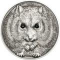 Campbell's Hamster 2015 Mongolia 500 Togrog Silver SWAROVSKI®