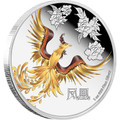 2015 1 oz Silver Coin - Feng Shui Series - Phoenix