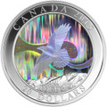Story of the Northern Lights: The Raven 1 oz Fine Silver Coin $20 Canada 2015