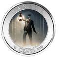 Haunted Brakeman - Lenticular 3D 25c Coin Canada 2015