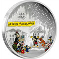 Disney Silver Coin - Season's Greetings Classic 2015 Niue 1 Oz  Silver Proof