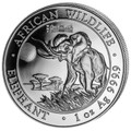 Exclusive World Money Fair PRIVY- ELEPHANT 1oz Silver Coin 2016 Somalia