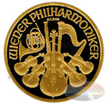 Vienna Philharmonic Gold Black Empire Coin - 2016 Austria 1.5 Euro 1 Oz Silver