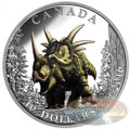 Spiked Lizard - Day of the Dinosaurs – 1 oz .9999 Silver $5 2016 Canada