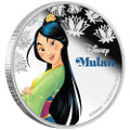 Disney Princess MULAN - 2016 Niue 1 oz Silver Coin